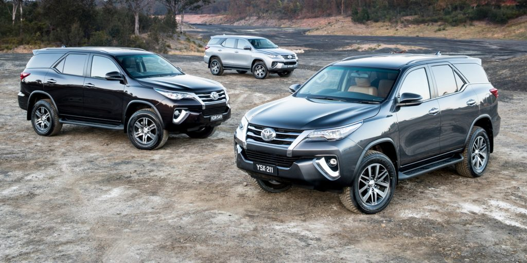 The Toyota Fortuner range has been updated with a bunch of new features and slashed prices!