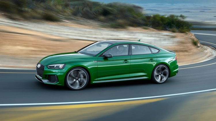 The new Audi RS5 Sportback details